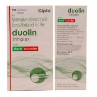 Box and generic Albuterol Sulfate and Ipratropium Bromide 20mcg/50mcg Inhaler