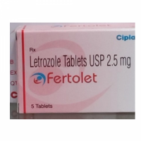 Box of generic Letrozole (2.5mg) Tablet