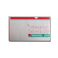 A box of generic Irbesartan 300mg tablets