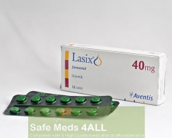 Lasix 40mg tablet (Generic Equivalent)