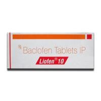 A box of generic Baclofen 10mg tablets