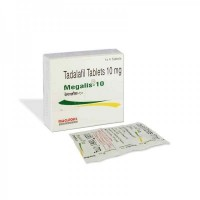 A box pack and a strip of generic Cialis 10mg Tablets - Tadalafil