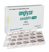 Onglyza 2.5 mg  Tablets (International Brand Version)