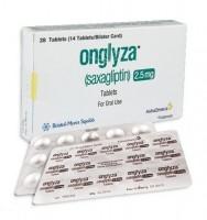 Onglyza 2.5 mg  Tablets (International Brand Version)