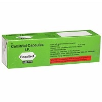 A box of Calcitriol 0.25mcg Capsule