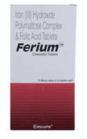 Elemental Iron 100 mg and Folic Acid 350 mcg Chewable Generic Tablet