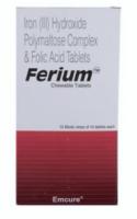Elemental Iron 100 mg and Folic Acid 350 mcg Chewable Generic Tablet