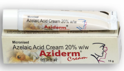 Box and tube of generic Azelaic Acid 20 % Cream 15gm