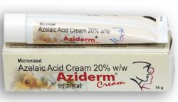 Box and tube of generic Azelaic Acid 20 % Cream 15gm