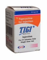 A box of Tigecycline 50mg Injection
