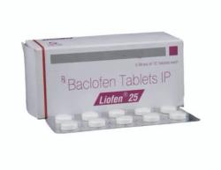 Lioresal 25 mg Generic Tablet