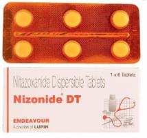 Alinia 200 mg Generic tablets