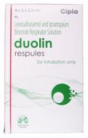 Levalbuterol ( 1.25 mg ) + Ipratropium ( 500 mcg ) Generic Respules 2.5ml