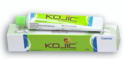 Kojic acid +Lactokine Fluid + Axeloglicina Generic Cream Tube 25 gm (Skin Lightening Cream)