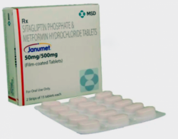 Janumet 50 mg/500 mg Tablets (International Brand Version)