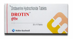 A box of generic Drotaverine 40 mg Tablet