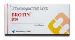 A box of generic Drotaverine 40 mg Tablet