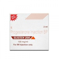 A box of generic Progesterone 200mg/ml Injection