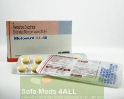 Toprol XL 50mg  Tablets (Generic Equivalent)