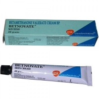 A box and a tube of generic Betamethasone Valerate 0.10 perecent 20 gm Tube