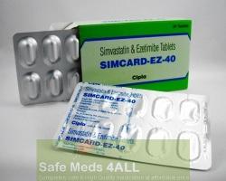 Vytorin 10mg / 40mg Tablets (Generic Equivalent)