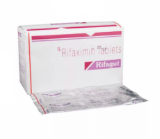 Image of rifaximin 200mg tablets