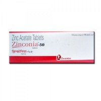 Zinc Acetate 50mg tablet