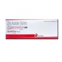 Zinc Acetate 50mg tablet