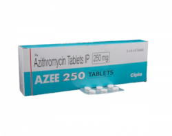 Zithromax 250mg tablet (Generic Equivalent)
