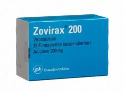 Zovirax 200mg tablets (Name Brand)