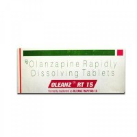 Box of generic Olanzapine 15mg tablet