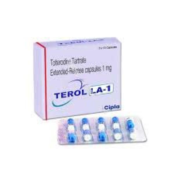 Detrol LA 1mg Generic Capsules