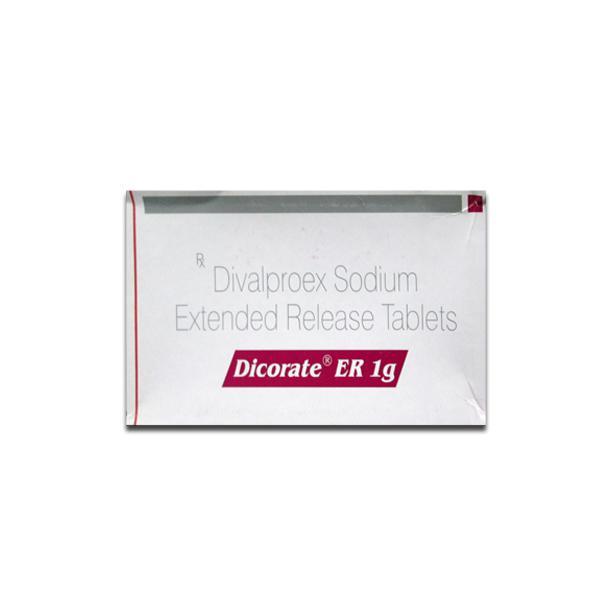 Depakote ER 1 g Generic Tablet