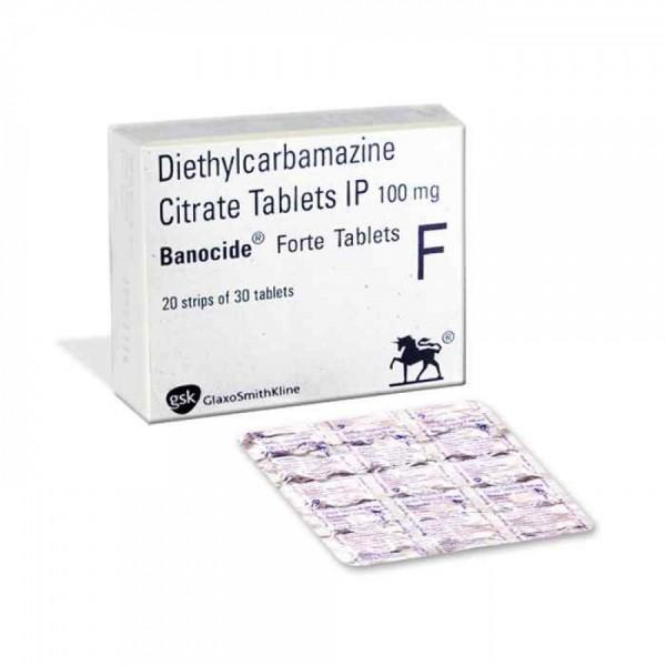 Diethylcarbamazine 100 mg Generic Tablet