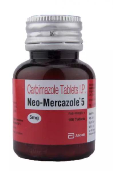 Carbimazole 5 mg Generic Tablet
