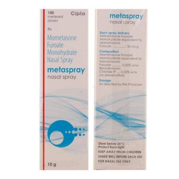 Nasonex  50mcg  100 Doses Nasal Spray ( Generic )
