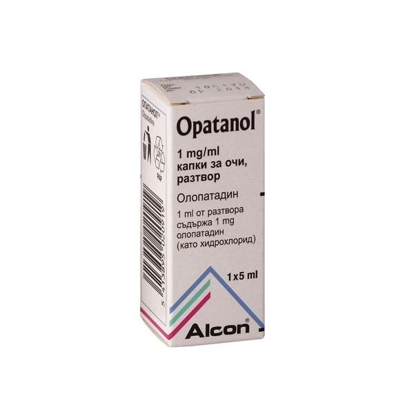 Patanol 1mg/ml eye drops (Generic)