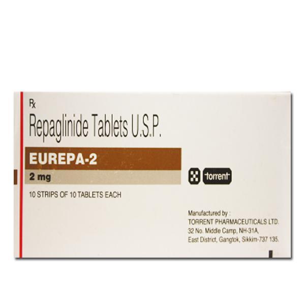 Prandin 2 mg Tablets (Generic Equivalent)