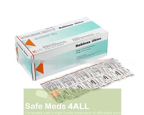 Robaxin 500mg Tablets (Generic equivalent)