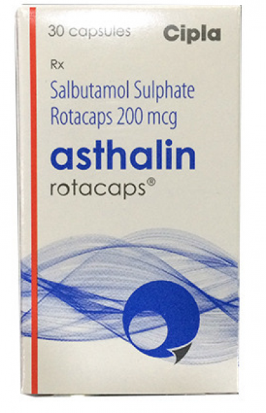 Albuterol 200 mcg Generic Rotacaps with Rotahaler
