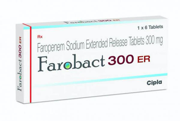 Faropenem 300 mg ER Generic Tablet