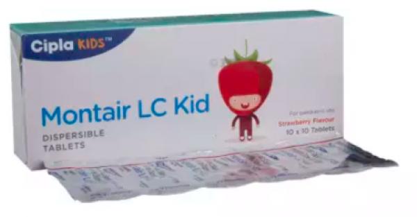 Levocetirizine ( 2.5 mg ) + Montelukast ( 4 mg ) Generic Tablet