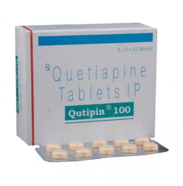 Seroquel 100mg Tablets (Generic Equivalent)