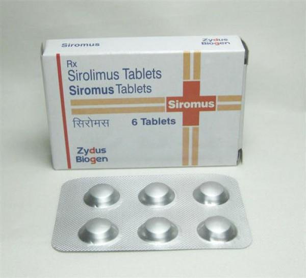Sirolimus 1mg Generic tablets