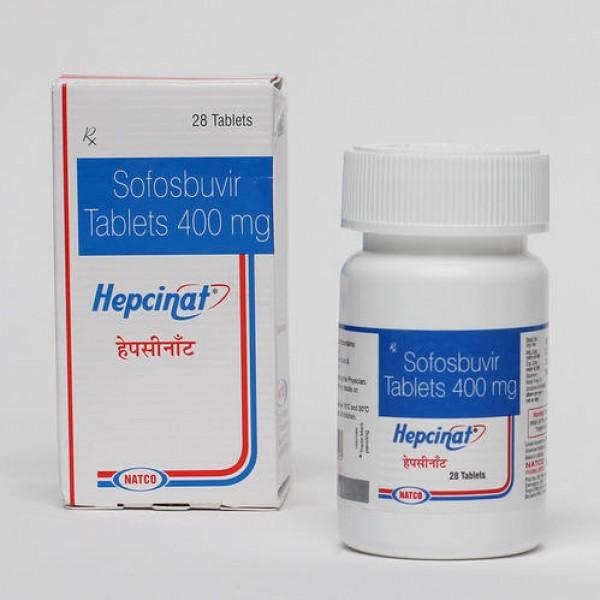 Sofosbuvir 400mg ( Generic ) tablets