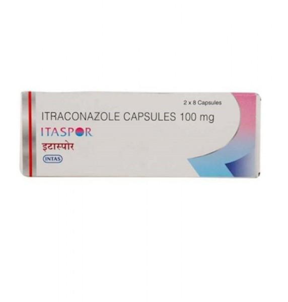 Sporanox 100mg Capsules (Generic Equivalent)