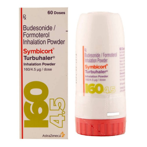 Symbicort 160/4.5mcg Turbuhaler (International Brand Version) (60 Doses)