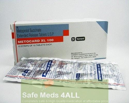 Toprol XL 100mg Tablets  (Generic Equivalent)