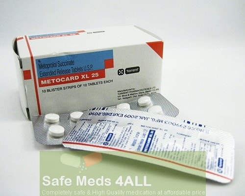 Toprol XL 25mg  Tablets (Generic Equivalent)