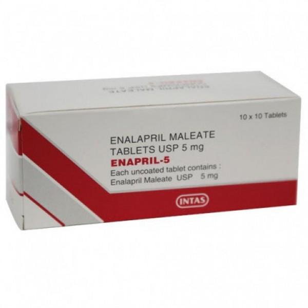 Vasotec 5mg Tablets ( Generic )